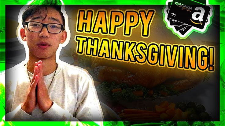 HAPPY THANKSGIVING! (Giveaway!)  | THE GIVEAWAY (Amazon Giftcards! ): http://ift.tt/2hNlQpI OPEN UP THE DESCRIPTION IF YOU WANT TO TALK! I respond to all Snaps Tweets DM's etc.!     KREATIVEVEIN (KreativeArmy) Social Media/Contact Info:  Snapchat (Start a KreativeStreak with me!): http://ift.tt/2yiz88a Discord Group Chat: http://ift.tt/2ePnqpR Twitter (Most active on here to be honest): http://twitter.com/KreativeVein Instagram (Slide into my DM's haha): http://ift.tt/2xf5cYW Twitch (I might…