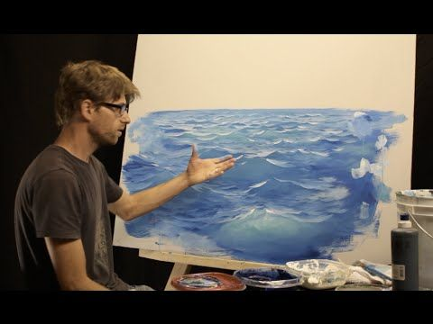 How To Paint Waves - Lesson 2: Light - YouTube