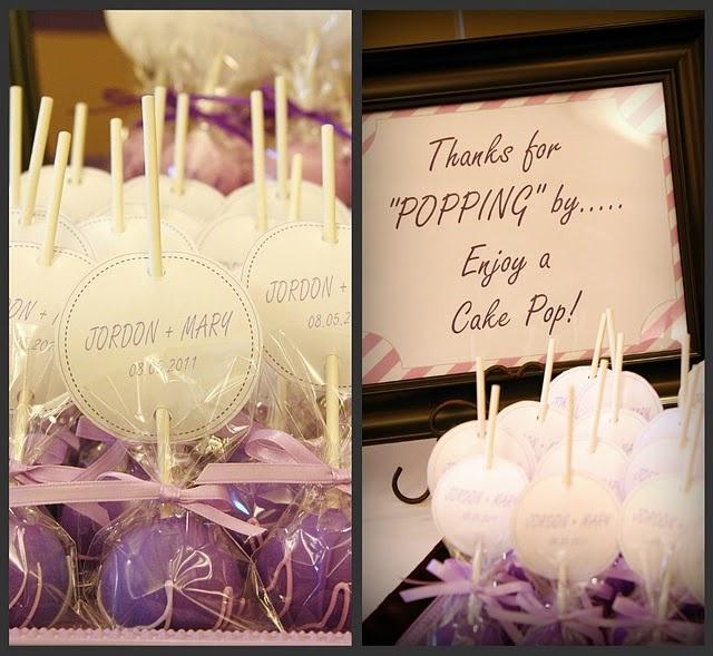 cakepops #purple #wedding: Cake Pop Favors, Treats Cakepops, Cakepops Purple, Purple Wedding Favors, Future Plans, Cards Holders, Cakes Pop Favors, Future Ideas, Desert Tables