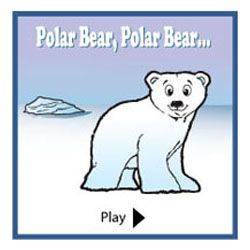 Cute polar, polar bear turn around story that can be done on the smart board...movement activities