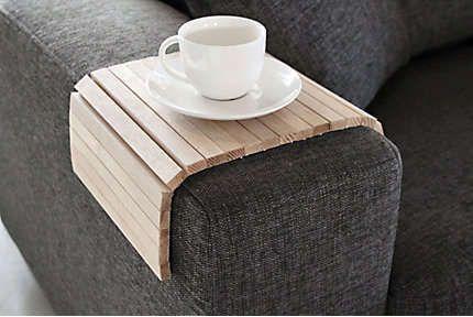 Armleuning dienblad hout #wood