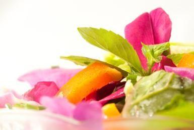 Rose Petal Salad - D.Schmidt for About.com