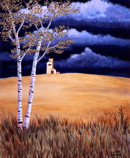 landscape to felt