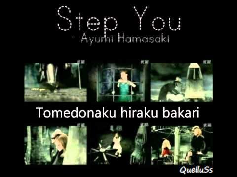 STEP you 浜崎あゆみ 歌詞情報 - goo 音楽  http://music.goo.ne.jp/lyric/LYRUTND25385/index.html