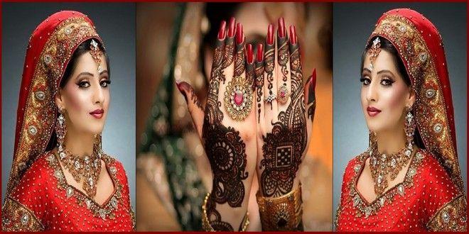 Simple Arabic Mehndi Designs for Bridal Hands