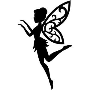 The 25 best ideas about fairy silhouette on pinterest for Fairy cut out template
