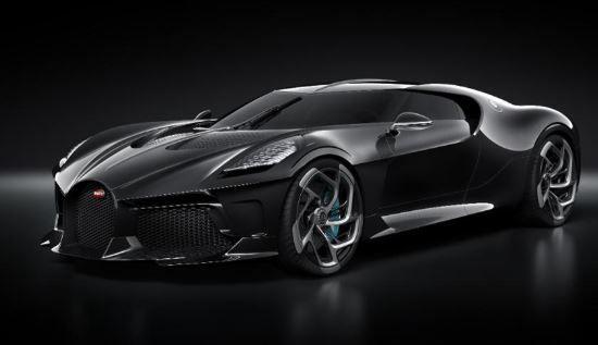 World's Most Expensive car by Bugatti- The La voiture Noire Bugatti -2019 News