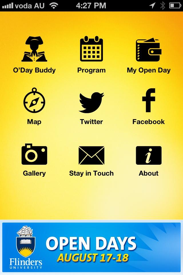 Flinders University 2012 Open Day iPhone App