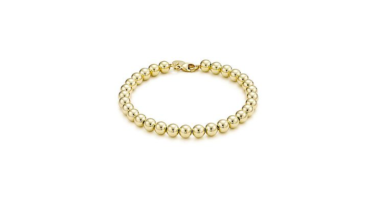 Tiffany Beads bracelet in 18k gold.