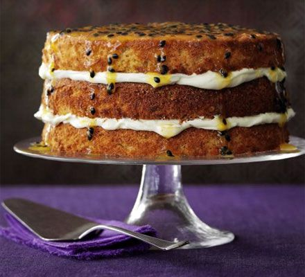 Bake Sarah Cook's scrumptious triple-layer cake for someone you love this Valentine's Day