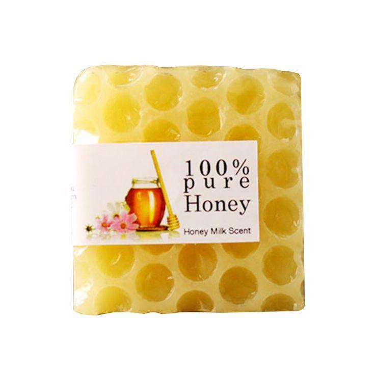 Hecho a mano Peeling Blanqueamiento Glutatión Arbutina ácido Kójico Jabón de Miel 80g RP05