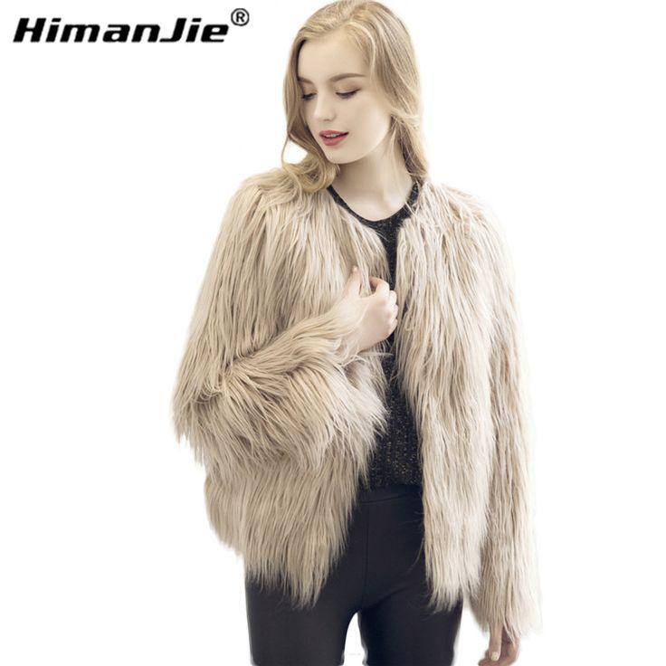 Chic miękkie faux fur coat kobiety Puszyste ciepły długi rękaw kobiet odzieży wierzchniej czarny elegancki jesień zima płaszcz kurtka owłosione płaszcz