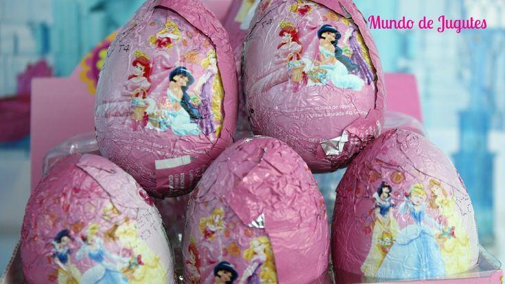Huevos Kinder Sorpresa De las princesas Disney|Kinder Suprise Eggs Mundo...