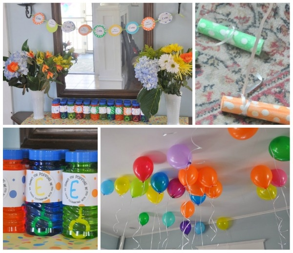 LOVE this idea for a toddler party...bubbles, balls and balloons. Check out this link for details: http://www.partylikeakid.com/2011/05/bubbles-balls-balloons-a-2nd-birthday/