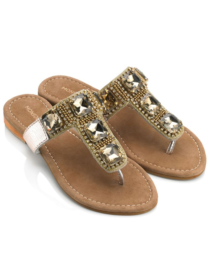 Avalon Square Bling Sandals, adds a vibrant addition to any holiday outfit. Girls all need a bit of bling!