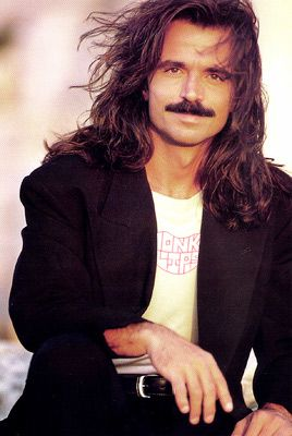 Yanni early 1990s - love this guy's music - Greek self-taught pianist, keyboardist, and composer (born Yiannis Hryssomallis)
