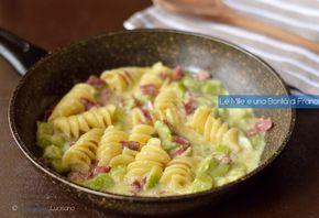 I fusilloni cremosi con zucchine e bresaola sono un primo piatto leggero che contiene tutti i macronutrienti necessari a una corretta alimentazione.