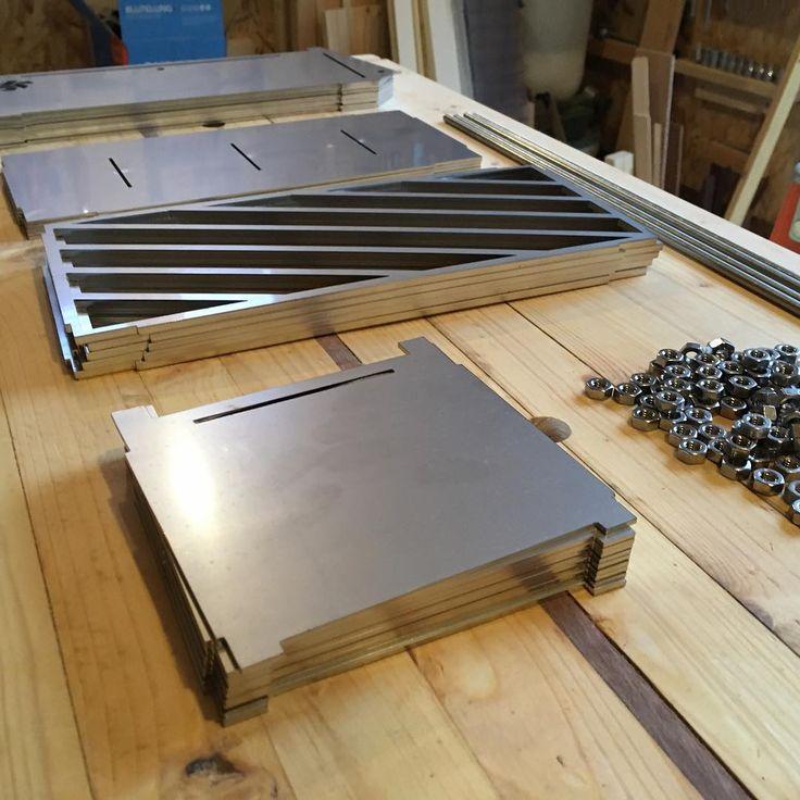 Brand new steel! #metal #production #laser #waterjet #lasercut #digitalmanufacturing #digital #machine #deusexmachina #engineer #prototype #new #newage #next #nextgeneration