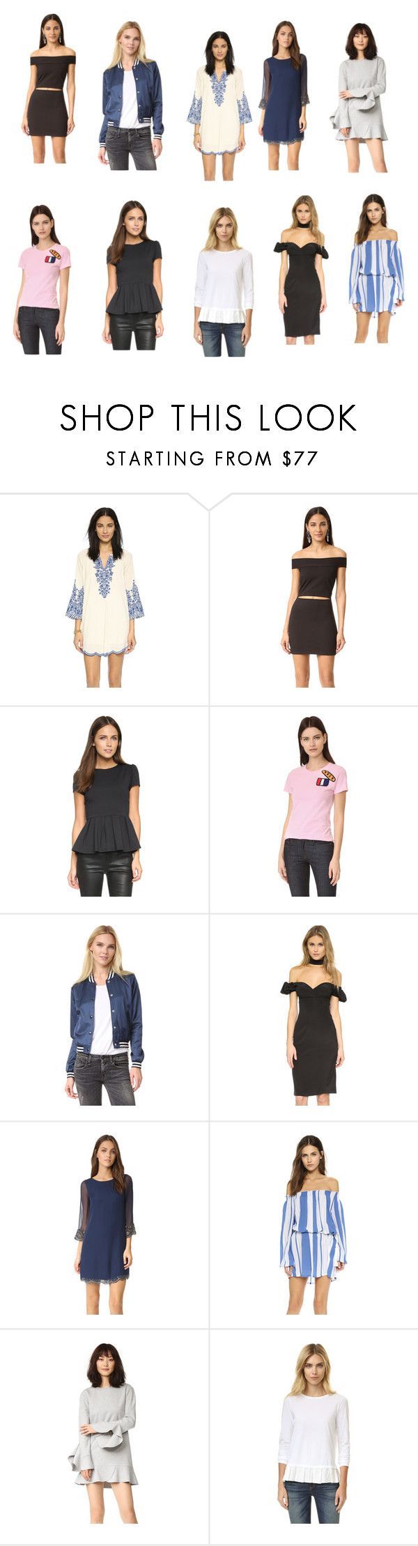 """""""tops casual wear collection sale"""" by monica022 ❤ liked on Polyvore featuring Love Sam, Susana Monaco, Michaela Buerger, R13, Alexis, Alice + Olivia, Faithfull, Goen.J, Clu and vintage"""