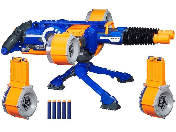 Take the office Nerf gun war nuclear with a 50+% off Gold Box from Amazon