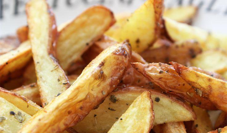 Aardappels met schil uit de oven
