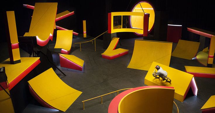 If OK Go made a BMX video it would look something like this