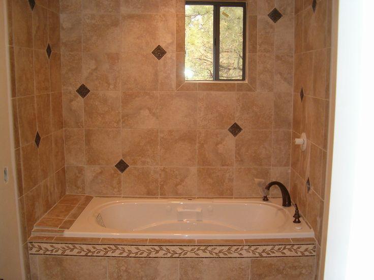 Exceptional Bathroom Tub Tile Ideas   Home Design Ideas Design