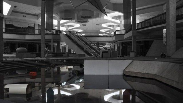 Abandoned Randall Park Mall in Ohio