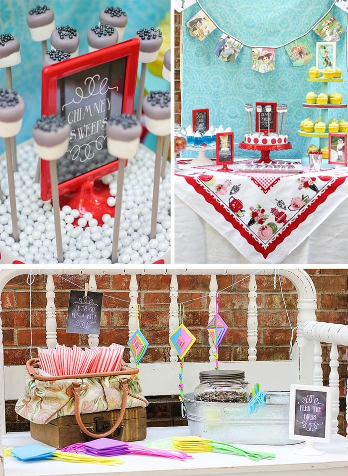 39 best Mary Poppins Baby Shower images on Pinterest Mary