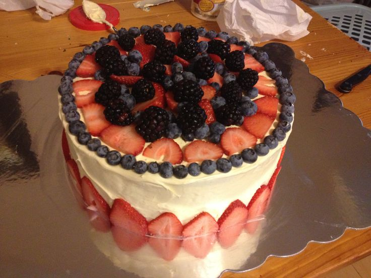 Cake Decorating Ideas For July 4th : 1000+ images about Patriotic Cake Decorating Ideas on ...