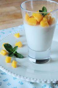 Profumi in cucina: Panna cotta al latte di cocco e mango