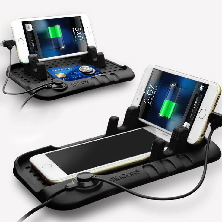 Универсальный Мобильный Телефон Автомобильное Зарядное Устройство USB Автомобильный Телефон Держатель Для GPS iPad iPod iPhone Samsung XiaoMi Mi HuaWei Телефон Автомобиля держатель