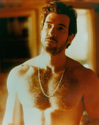 Dylan McDermott. He is all kinds of naked in American Horror Story. I can't believe he is 50!?! He is crazy Hot!... I love chest hair!