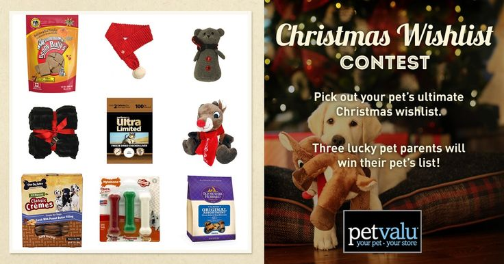I just created my Pet Valu Wishlist, enter your wishlist too and I'll get a bonus entry!