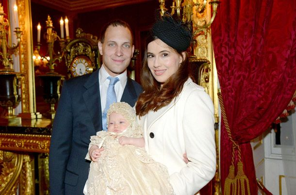 Lord Freddie Windsor and Sophie Winkleman celebrate christening of their daughter Maud - hellomagazine.com