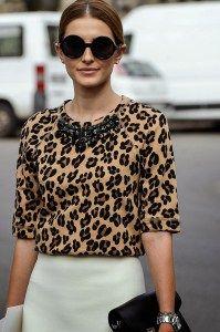 blusa de leopardo
