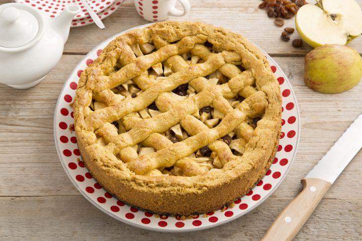 Lekker recept voor een glutenvrije appeltaart van Koopmans.