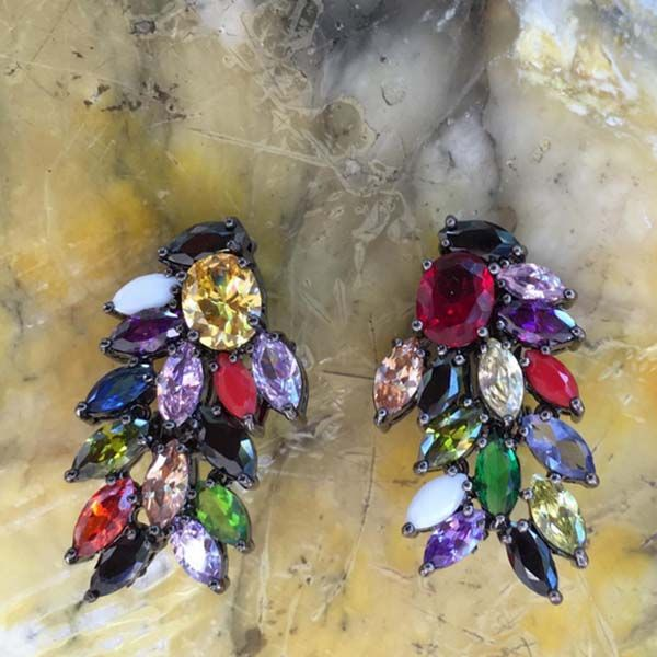 Mandala earrings #IOSSELLIANI