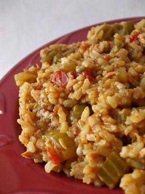 My Creative Stirrings: Cajun Rice Dish