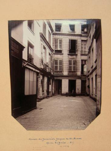 Maison du théologien Jacques de Sainte-Beuve, 17 rue Séguier, 6ème arrondissement, Paris | Paris Musées