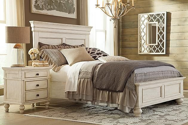 queen bed frame ashley furniture 2