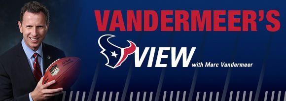 Vandermeer's View: Texans vs. Chargers