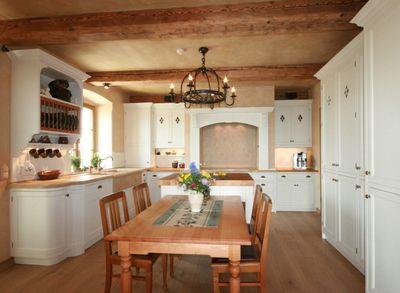 Kcheneinrichtung Im Englischen Landhausstil