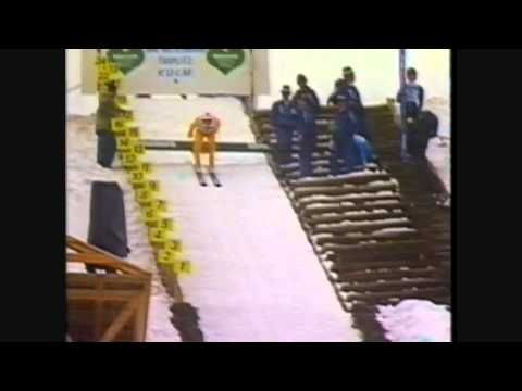 Ski Flying (and crashing) - Ski Jumping at its best (and most dangerous) - YouTube Older Olympics but shows what these folks can do.