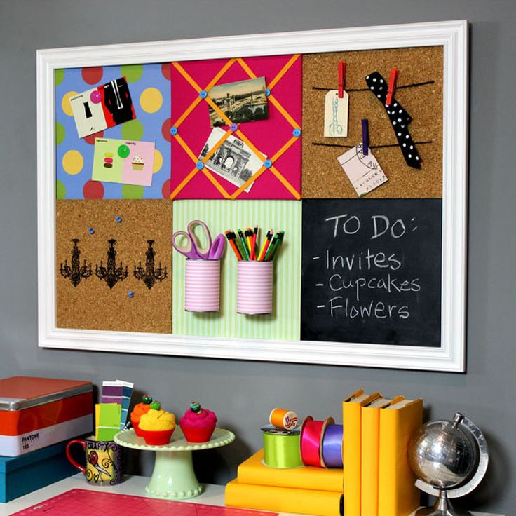 DIY Pottery Barn Teen-Inspired Bulletin Board System