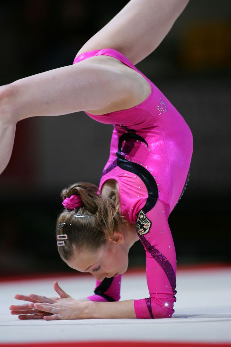 I love her pubic bulge in this shot | Gymnasts in super hi ...