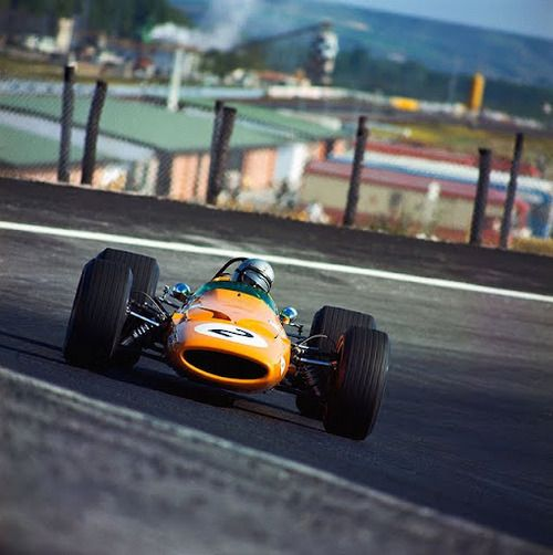 McLaren Ford M7C 1969, driven by Bruce himself