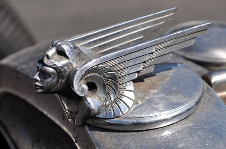 fuckinmiki: 1929 Chevy Viking hood ornament