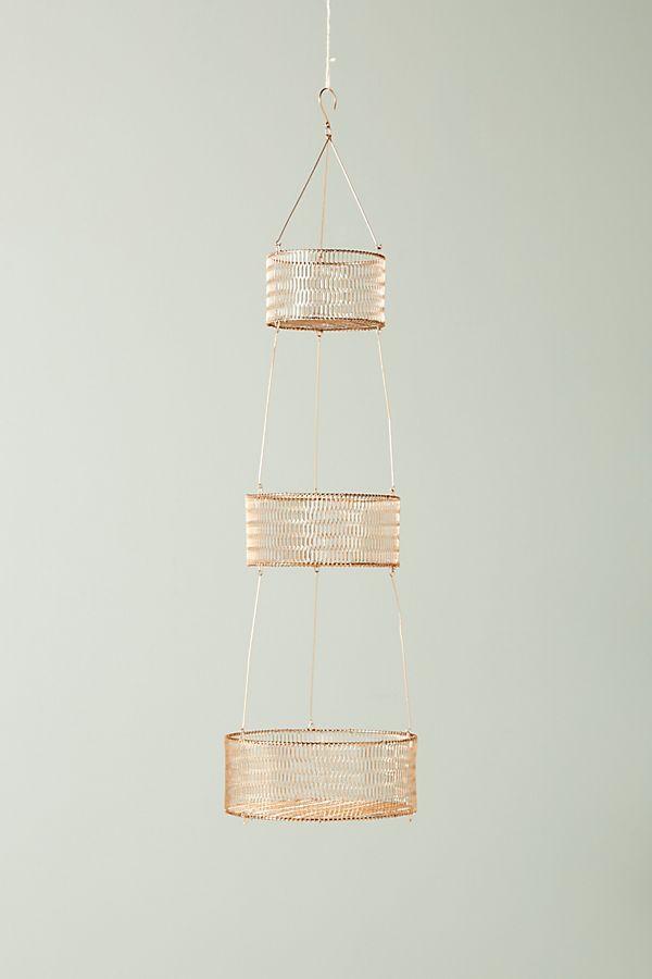 Tiered Hanging Basket Hanging Baskets Hanging Fruit Baskets Hanging