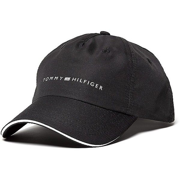 Tommy Hilfiger Athlete Logo Cap (420 MXN) ❤ liked on Polyvore featuring accessories, hats, tommy hilfiger, logo caps, logo hats, tommy hilfiger cap and caps hats
